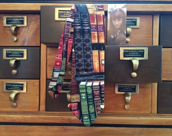 Books Long Necktie