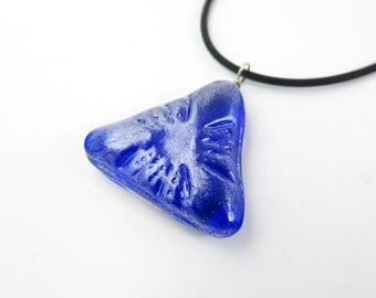 Diatom Cast Glass  Pendant