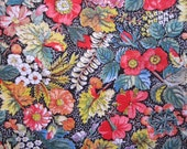 vintage fabric - floral home decor fabric - CONCORD fabrics - 44 x 44 inches