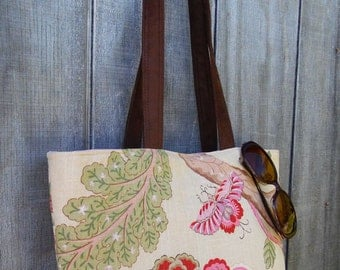 Linen tote bag,Diaper bag,Shoulder Bag,Handbag,Stylish,Durable bag