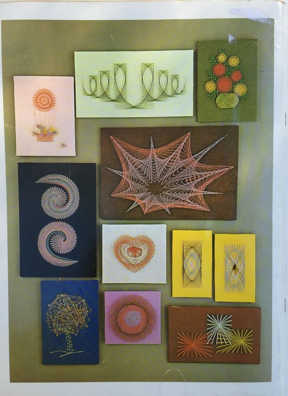 String Art Instruction Books Symmography Pattern Books For