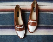 1980s Bally Margy Leather Loafers // sz 6.5