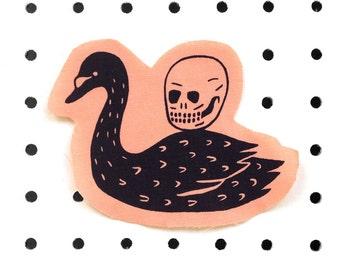 Swan + Skull Patch