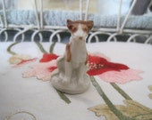 Wade Skip the Dog Whimsies Red Rose Tea Figures Wade Pottery Dog Figures