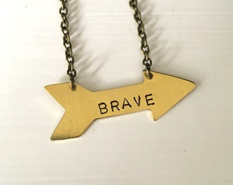 Brave Arrow necklace