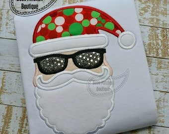 Hip Santa applique