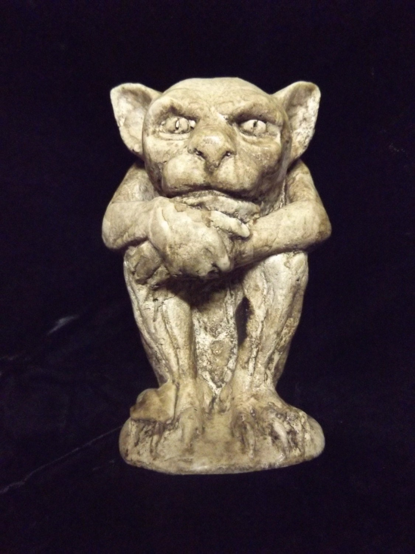 Gargoyle Baby Demon Statue Brown Creature Beast by ...
