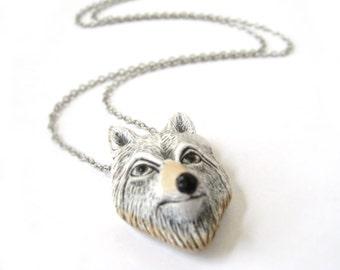 Wolf Necklace Jewelry - Tribal Necklace Women - Men Wolf Jewelry - Wolf Gift Him Her Teens - Wolf Jewelry Women - Wolf Necklace Pendant
