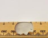 Wombat Sterling Silver Pin Brooch tie-tack lapel-pin tie-pin