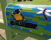 Mosaic Mailbox Made to Order