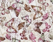 Paris Rendezvous Butterflies - Timeless Treasures - 1 yard - More Available - BTY