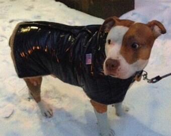 Americana Waterproof Puffer Dog Ski Jacket, Dog Jacket, Dog Coat, Dog Jackets