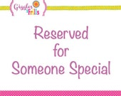 Reserved for Pam