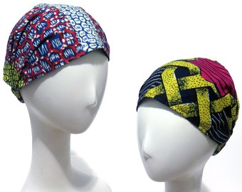 Yoga Headband, Hair Protection, REVERSIBLE Headband, Turban Head Wrap, Womens Headband, Adult Headband, Gift for Her, for Girls