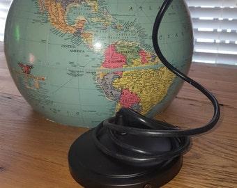 Upcycled Globe Light
