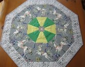 CUSTOM ORDER - Quilted Table Topper Carousel