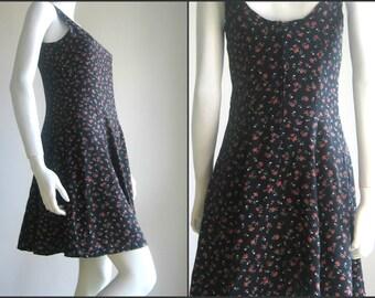 80s vtg handmade cotton dress
