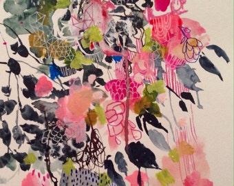 Bubble Gum 11 x 14 Art Print