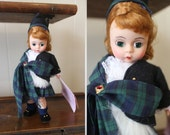 Madame Alexander Doll Vintage International Collection Scotland 8 Inch