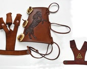 Arm Guard, Shooting Glove and Bow Hand Protecting Glove Set
