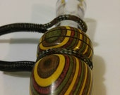Handmade Campfire Colorwood Short Reed Canada  Goose Call GZ4