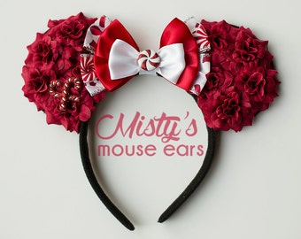 Christmas Rose Mouse Ears