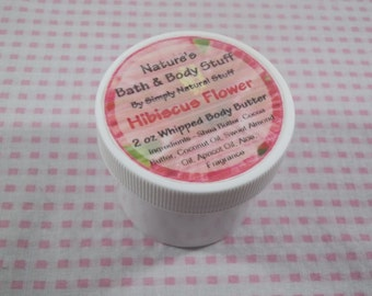 Hibiscus Flower Whipped Body Butter 2oz Jar Of Body Butter