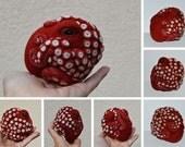 Custom Order - Octopus, needle felted wool ornament