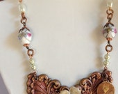 Large Wings Statement Necklace