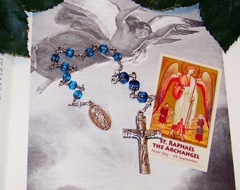 Unbreakable Chaplet of St. Raphael the Archangel - Patron of Doctors, Nurses, Sick People, Blind People and Against Mental Illness