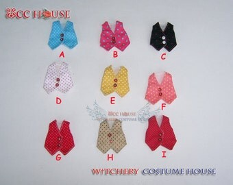 Vest fashion with polka dot for Lati yellow & More size to custom