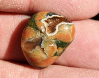 Rainforest Jasper Rhyolite Tumbled Stone