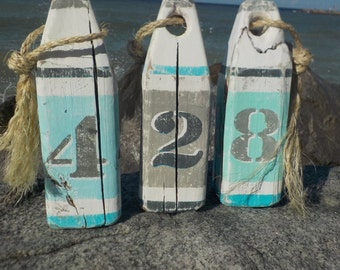 Save the date signs, Wood Buoy's, beach decor, Wedding signs, Custom wedding signs, Nautical decor