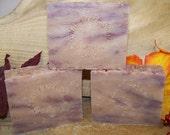 Cherry Sandalwood Soap ~ Cherry Sandalwood Cold Processed Soap ~ Vegan Soap