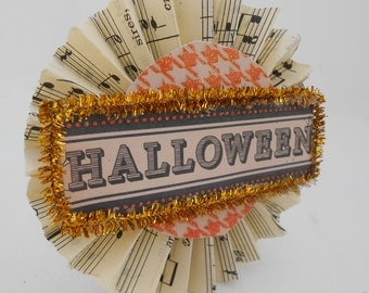 Vintage Inspired Halloween Brooches