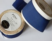 blue french ribbon lot french ribbons