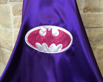 Batgirl  Cape - Purple