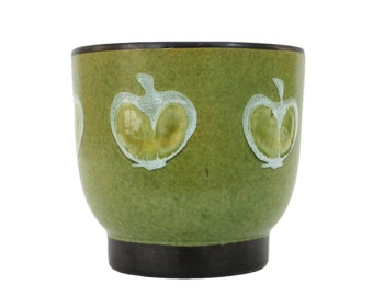 Danish Modern Planter Pot by B.P.F. Heffen Belgium