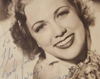 1940s Eleanor Powell Signed Photo