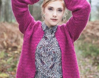 Crochet pattern : Of Course Cardigan