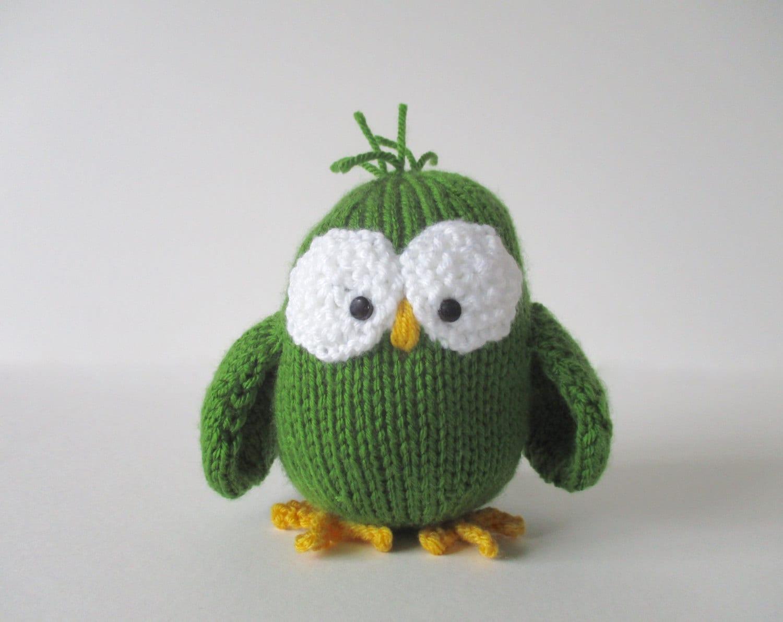 Allsorts Owl toy knitting patterns