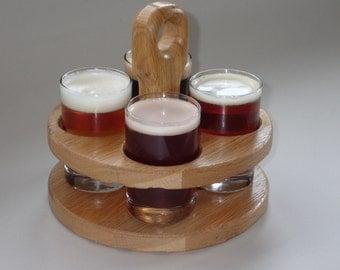 craft beer taster caddy