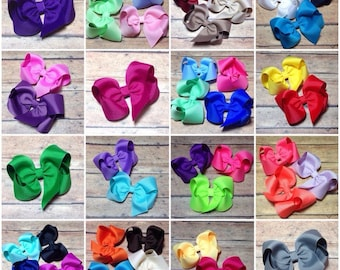 Set of 40 Bows 3 Inch TBB Twisted Boutique Bow **Free Shipping**