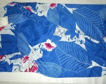 Vintage Hawaiian Print Dress made in Hawaii