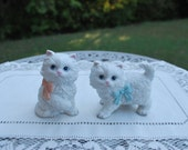 Pretty Pair of Homco Home Interior #1428 Porcelain Kittens, Excellent Condition, Very Cute.