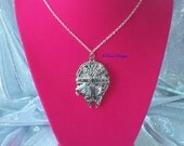 Star Wars Millennium Falcon Pendant Necklace Custom made by TorresDesigns - Ready To Ship