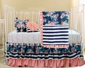 Deposit for Christin B's Custom Navy Floral Set