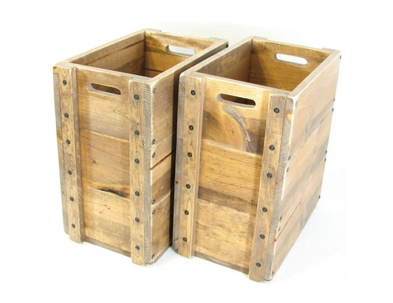 Custom for jenny hinged lid on wooden boxes tall wood Wooden crates furniture