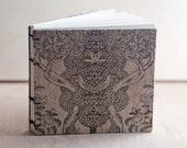 small mystic forest landscape photo album or guestbook