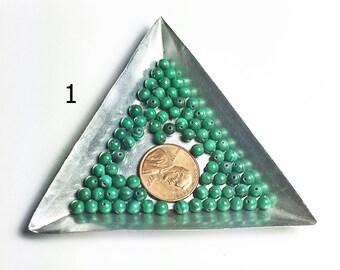 Malachite beads-#1